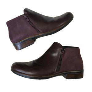 Naot Helm Bordeaux Leather Women's $200 Leather